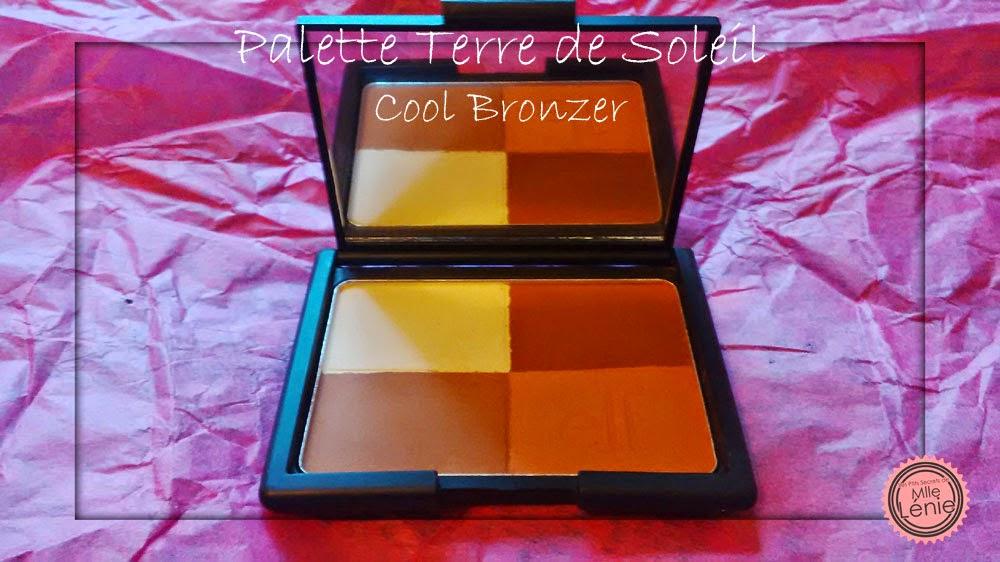 Ma 1er Commande E.L.F, Verdict! Palette Terre de Soleil Cool Bronzer