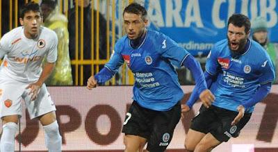 Novara 0 - 2 AS Roma (2)