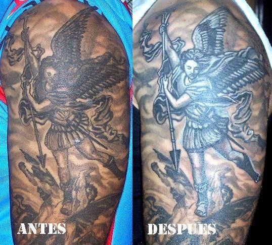 Arcangel Tatuajes tatuajes l.f.a.: tatuajes:san miguel arcangel