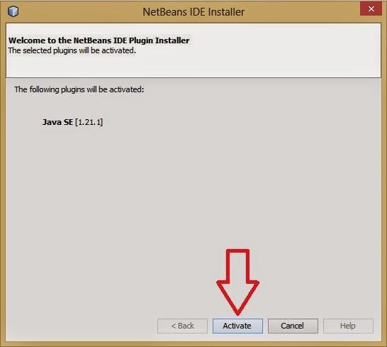 Cara Mengaktifkan Plugin Java SE di NetBeans