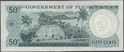 Fiji 50 Cents 1968 P# 58
