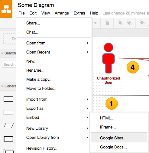 How To Insert Draw Io Diagrams Into Google Sites Hanxue And It