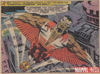 Falcon,superhero,Marvel,Capes on Film