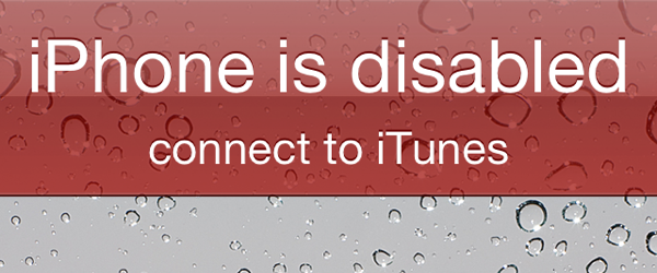 should ipad is disabled connect to itunes Android devices with