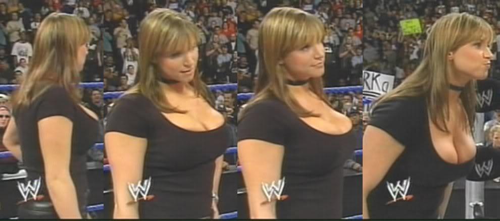 Women with triple breast