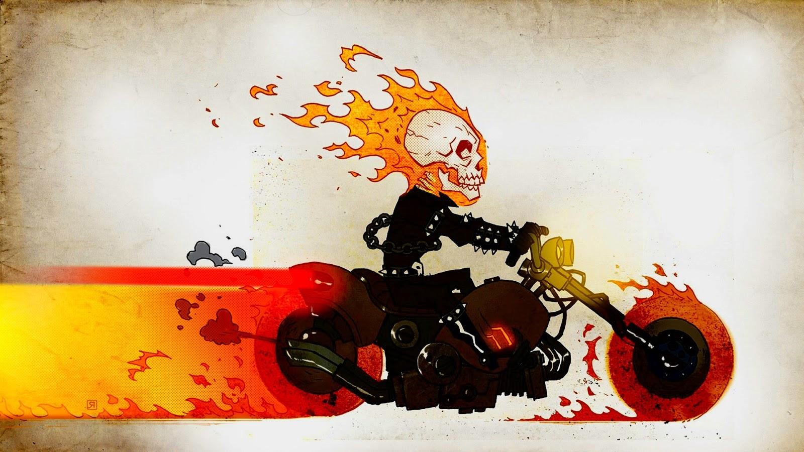 Download   Wallpaper Horse Ghost Rider - 22  HD_796514.jpg