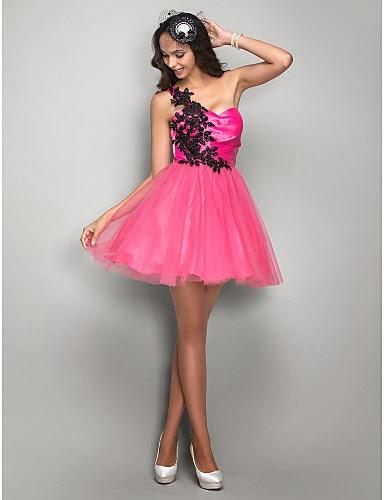 Excelentes vestidos de fiesta cortos