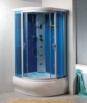 Decoraciones y afinidades dise a y decora modernas for Cabinas de ducha economicas