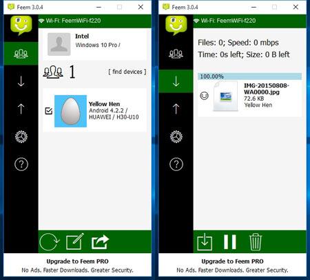 Cara Transfer File Dari Handphone ke Komputer Via WIFI
