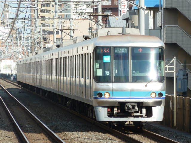 東京メトロ東西線 中野行き4 07系