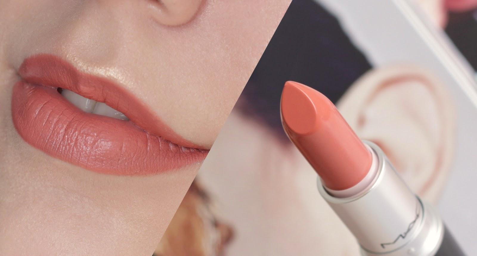 MAC Kinda Sexy Matte Lipstick Swatch and Review
