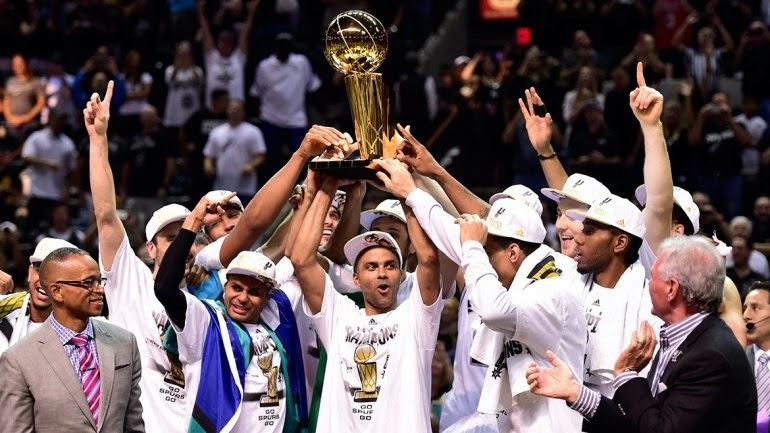 San Antonio Spurs campeón de la NBA 2013 / 2014