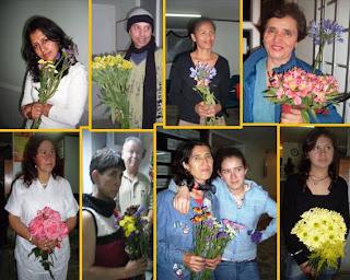 Urantianos participantes del taller de sanacion