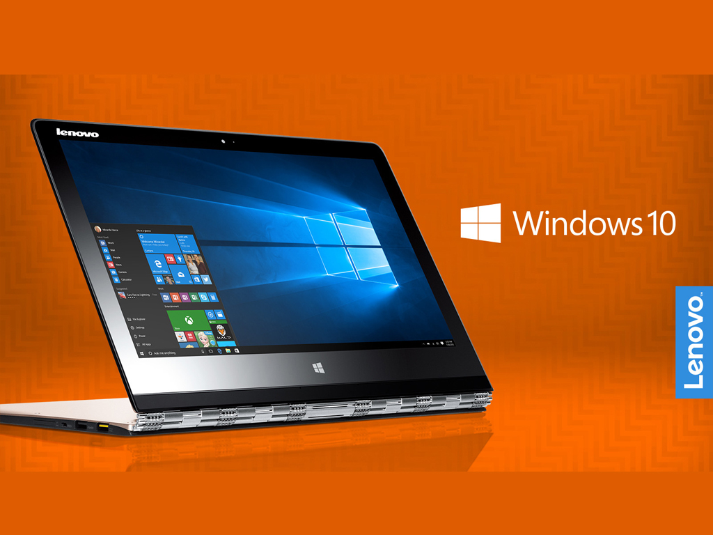 Lenovo Announces that they'll be Shipping Products Preloaded with Windows 10