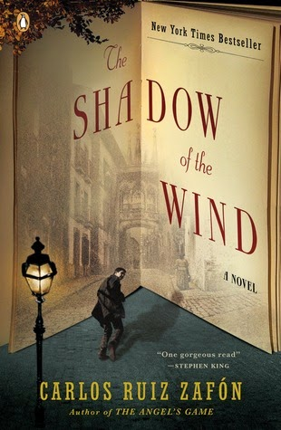 Best Bibliomystery Books List The Shadow of The Wind by Carlos Ruiz Zafon