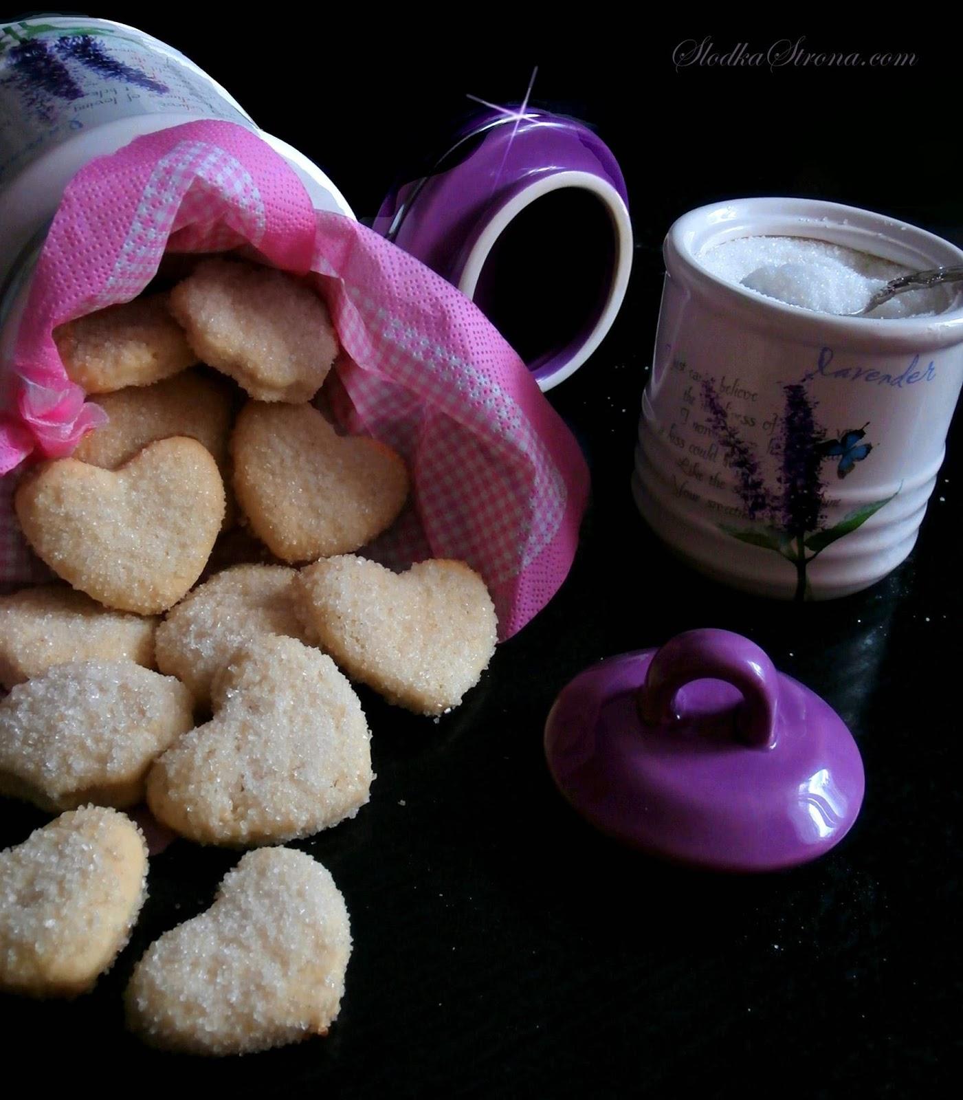 Kruche Ciasteczka z Cukrem - Przepis - Słodka Strona