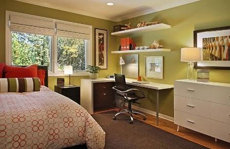 Yuk Lihat, Desain Interior Kamar Tidur Pada Sudut Ruangan