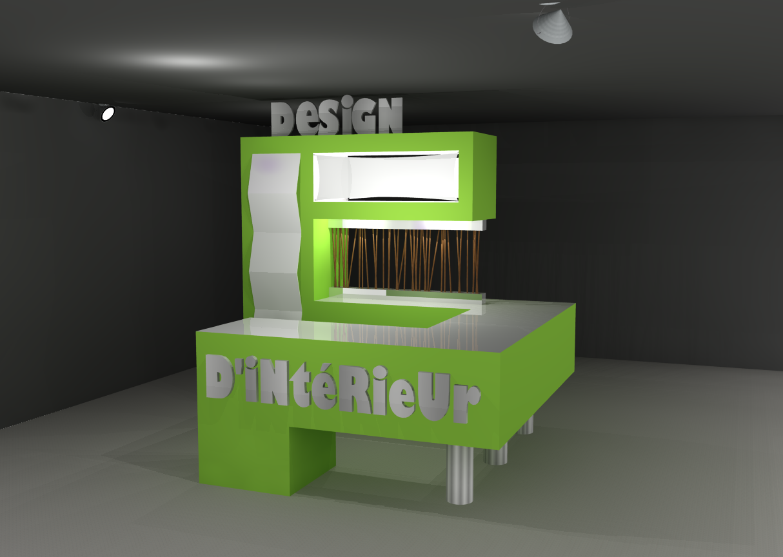 kiosque d 39 information design int rieur vickie lebrun. Black Bedroom Furniture Sets. Home Design Ideas