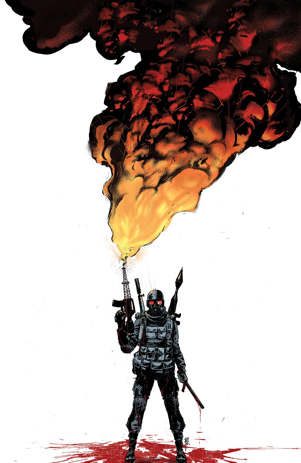 The Burning Fields artwork