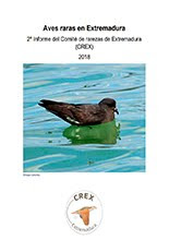 Segundo informe del Comité de Rarezas de Extremadura CREX