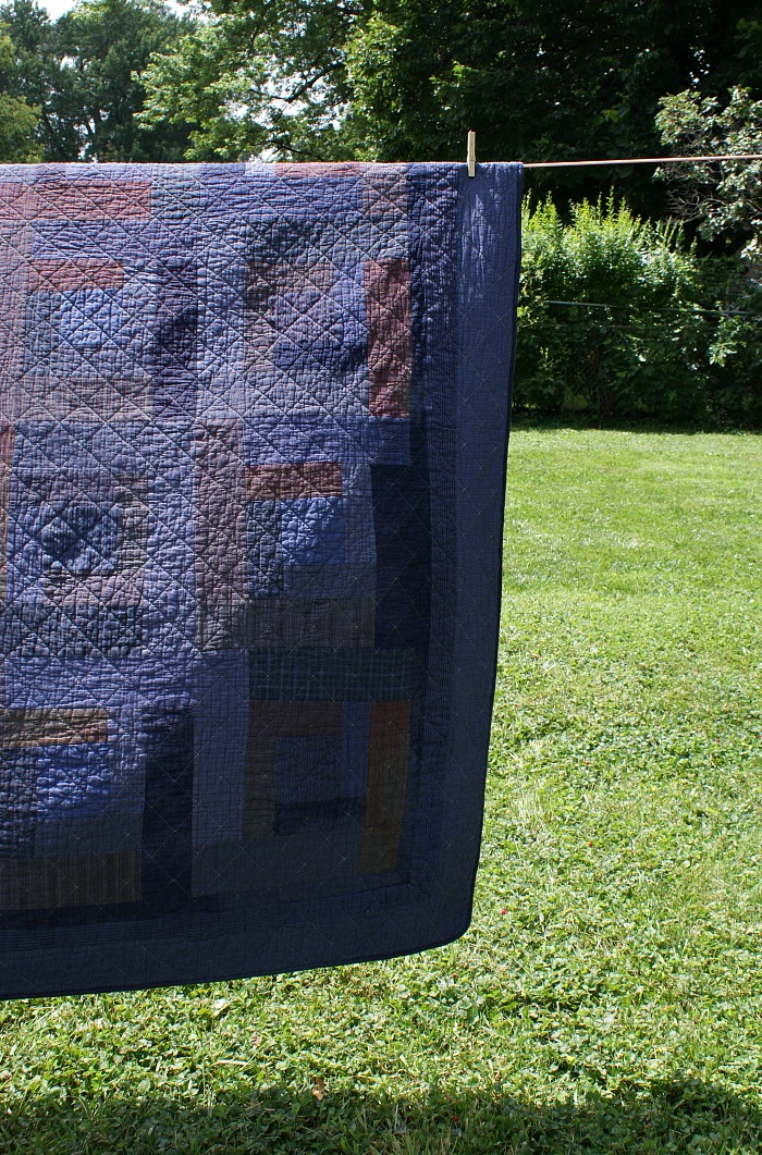 how to overdye a quilt