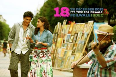 Film Dilwale Shahrukh Khan Terbaru 2015, Review Lengkap