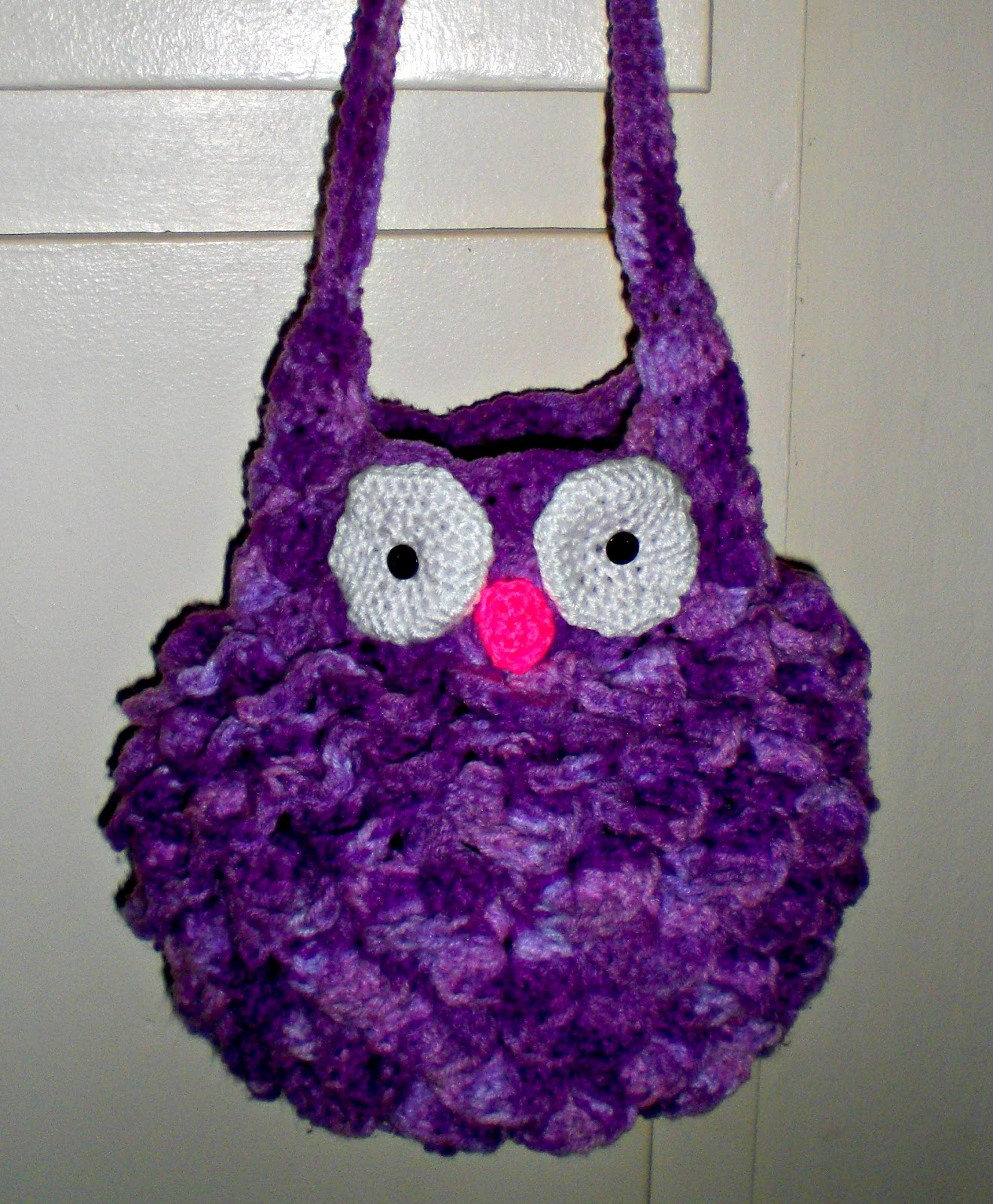 Free Crochet Pattern Owl Tote Bag : A Little Loopy, But Im Hooked: Fat Owl Bag