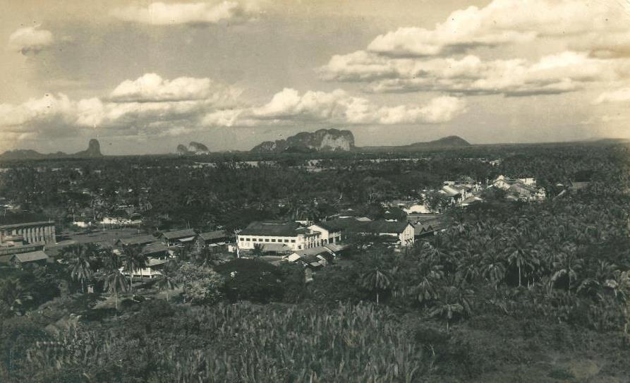 Bandar Kangar Sekitar Tahun