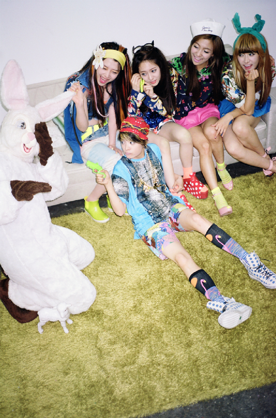 KPOP HOTLINE:.: F(x) Concept Photos for Electric Shock Album F(x) Electric Shock Album Cover