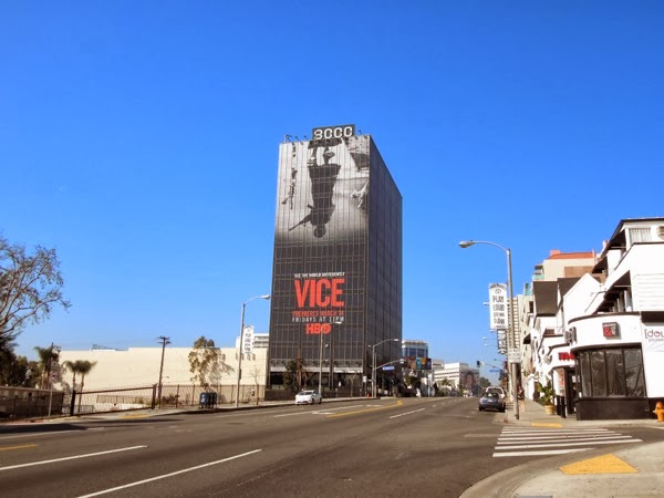 Giant Vice season 2 HBO billboard Sunset Strip