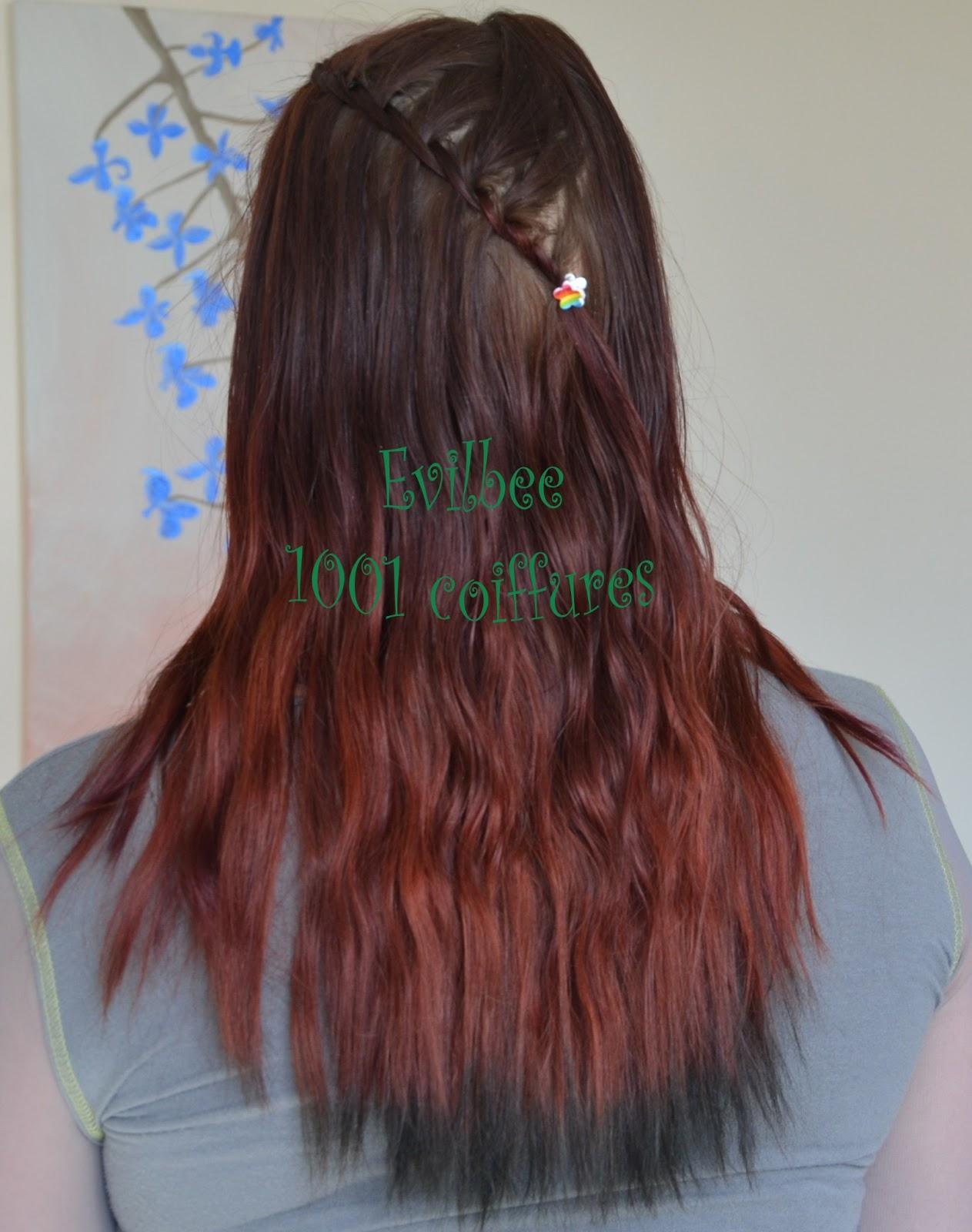 1001 coiffures de tressum le petit trait de la tresse - Tresse en cascade ...