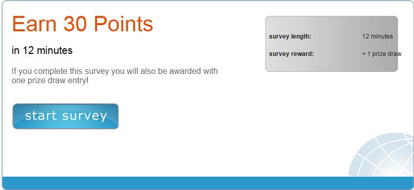 Pre information about survey