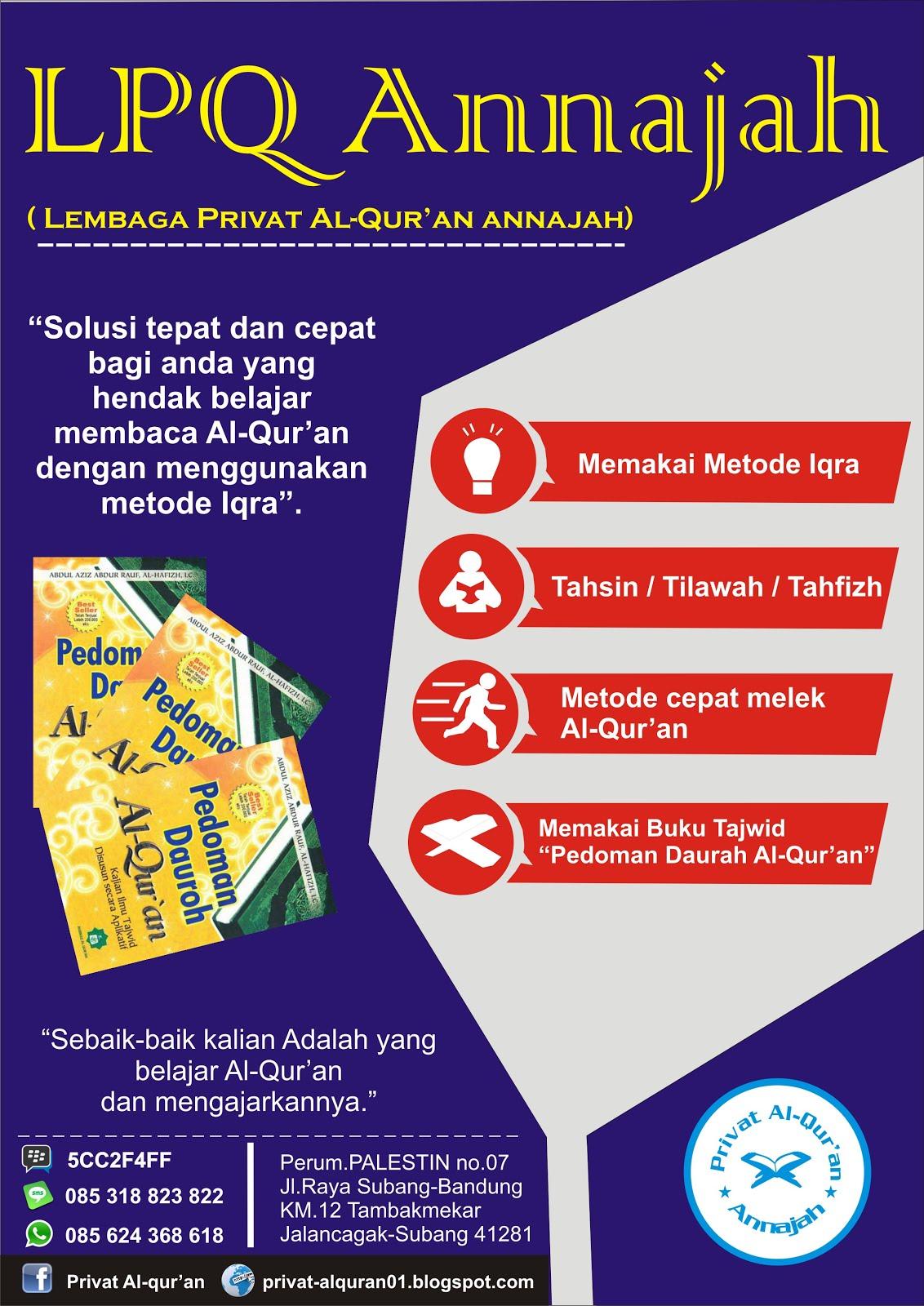 Solusi belajar Al-Qur'an Anda