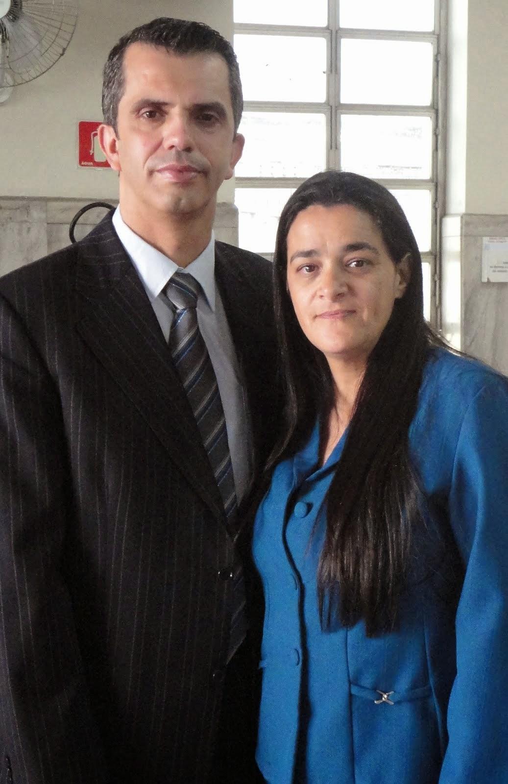 Pastor Adriano e Missionaria Val