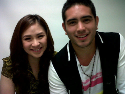 here has been reports that Sarah Geronimo and Gerald Anderson were