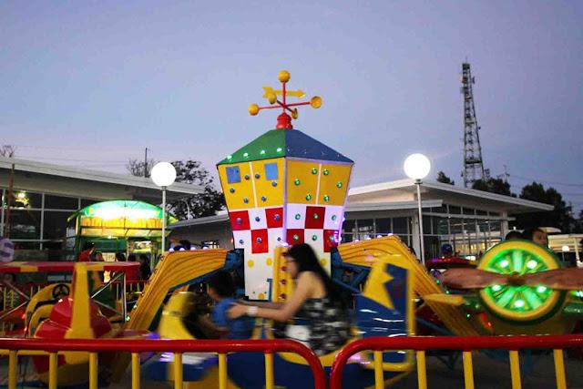 Red Baron at Sky Fun Amusement Park at Sky Ranch Tagaytay