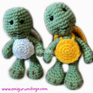 crochet turtle pattern free