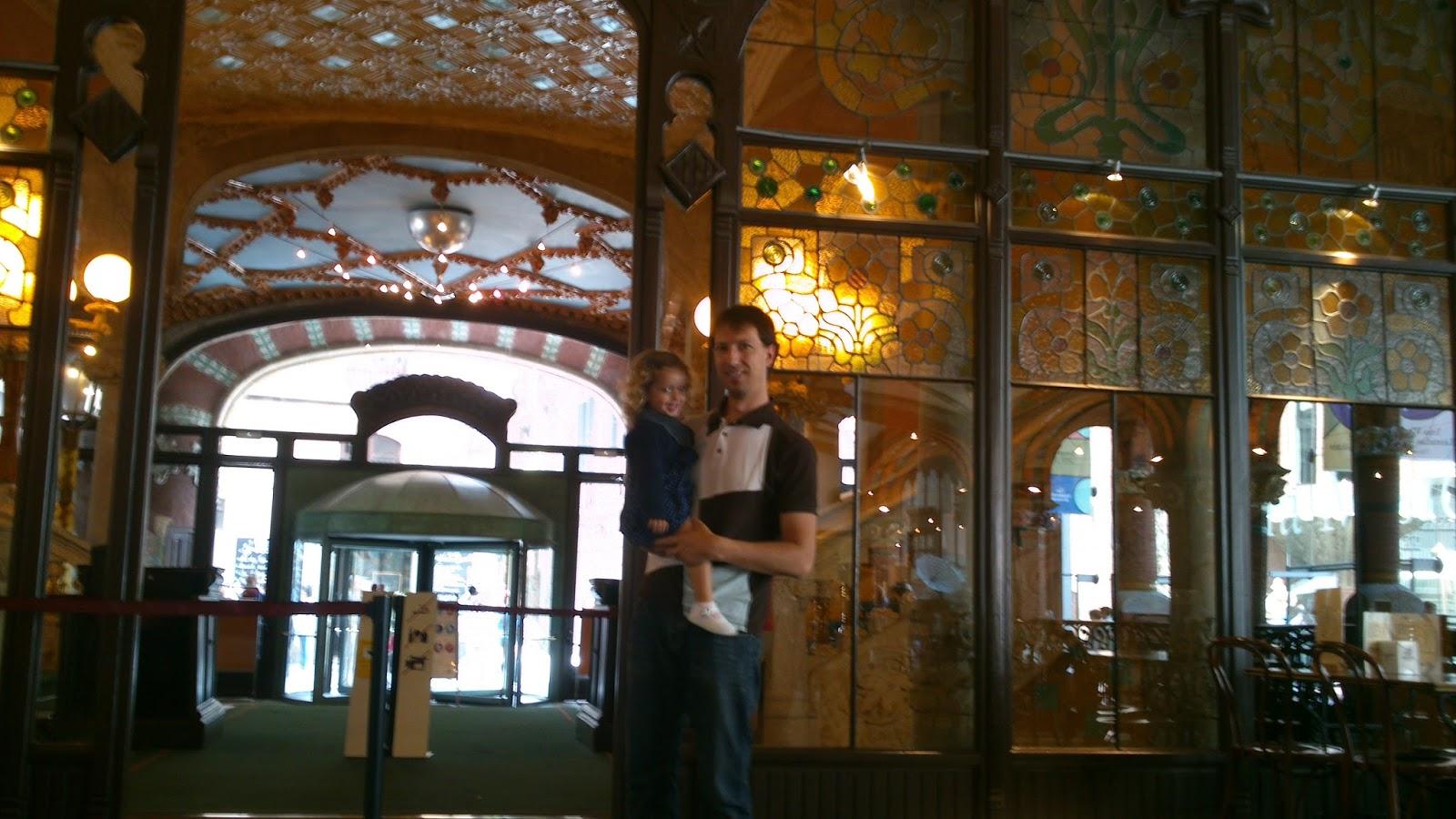 interior Palau de la música de Barcelona