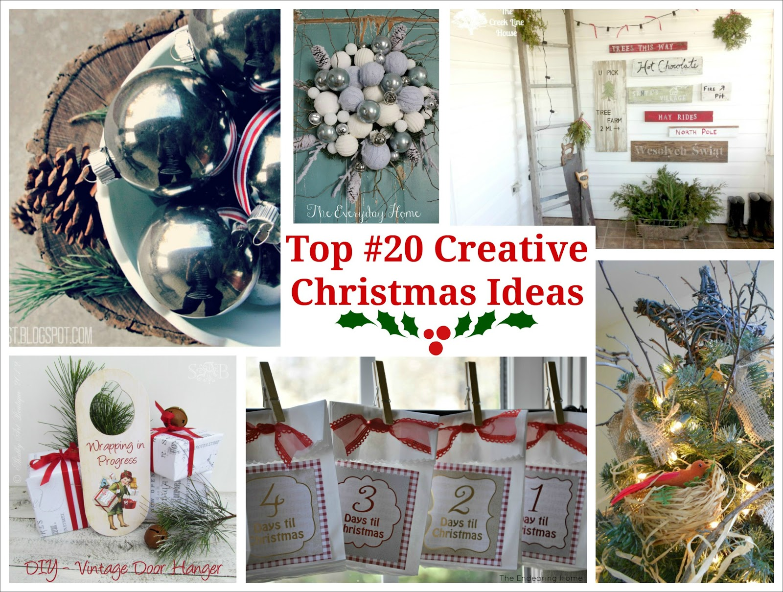 Top 20 Creative Christmas Ideas