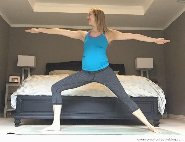 Toning yoga poses - Warrior 2/B