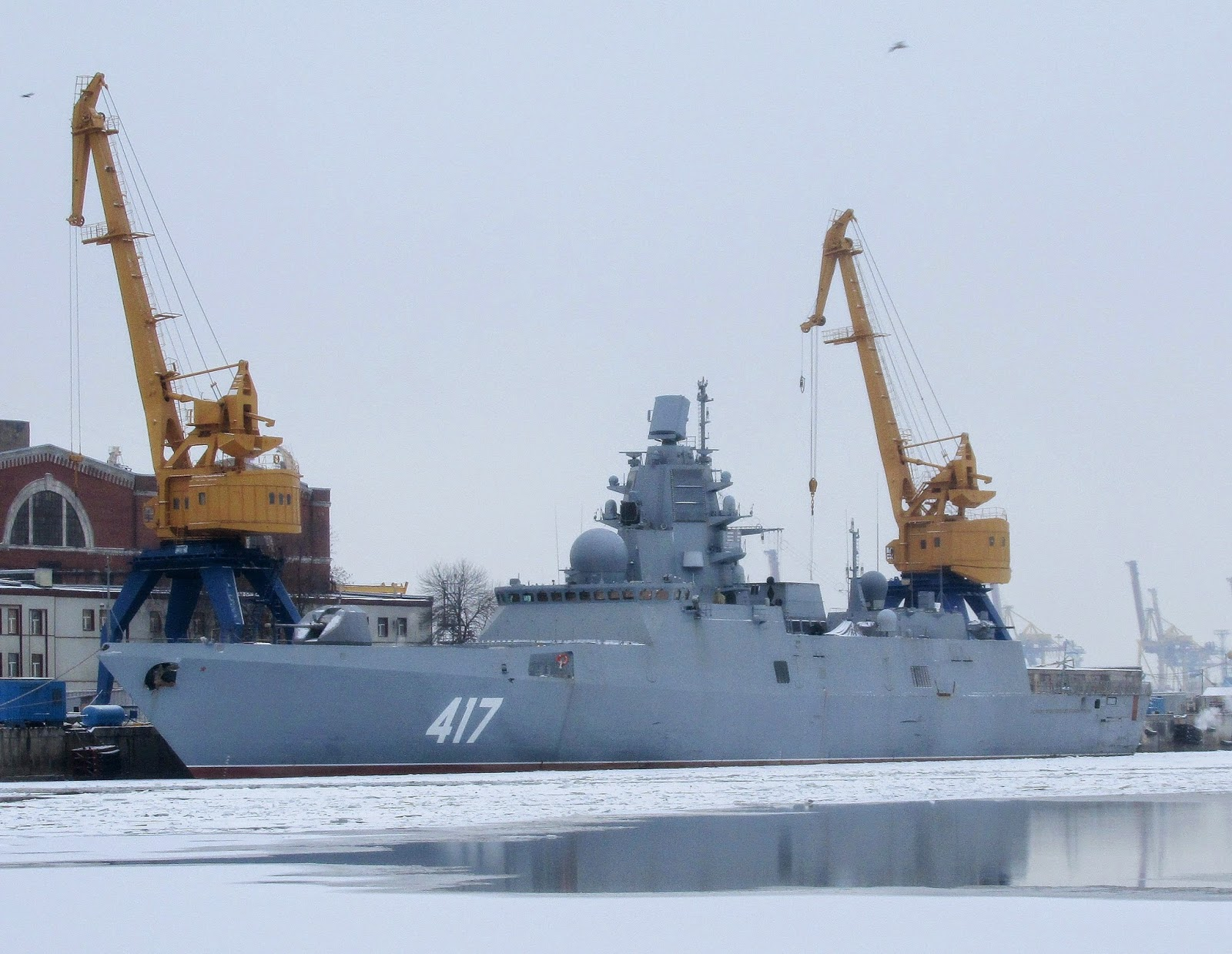 Frigate Admiral Kasatonov: on the design and capabilities of the vessel 89