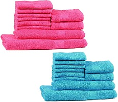 Trident 10 Pcs Towel Set worth Rs.1800 for Rs.599 (Flat 67% Off) @ Amzon (Limited Period Deal)