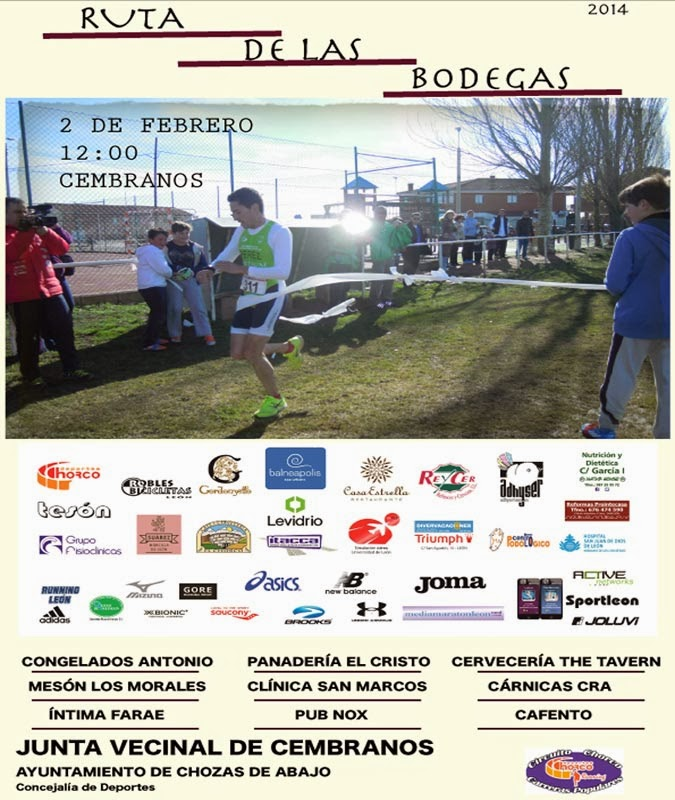 Carrera ruta bodegas cembranos 2014