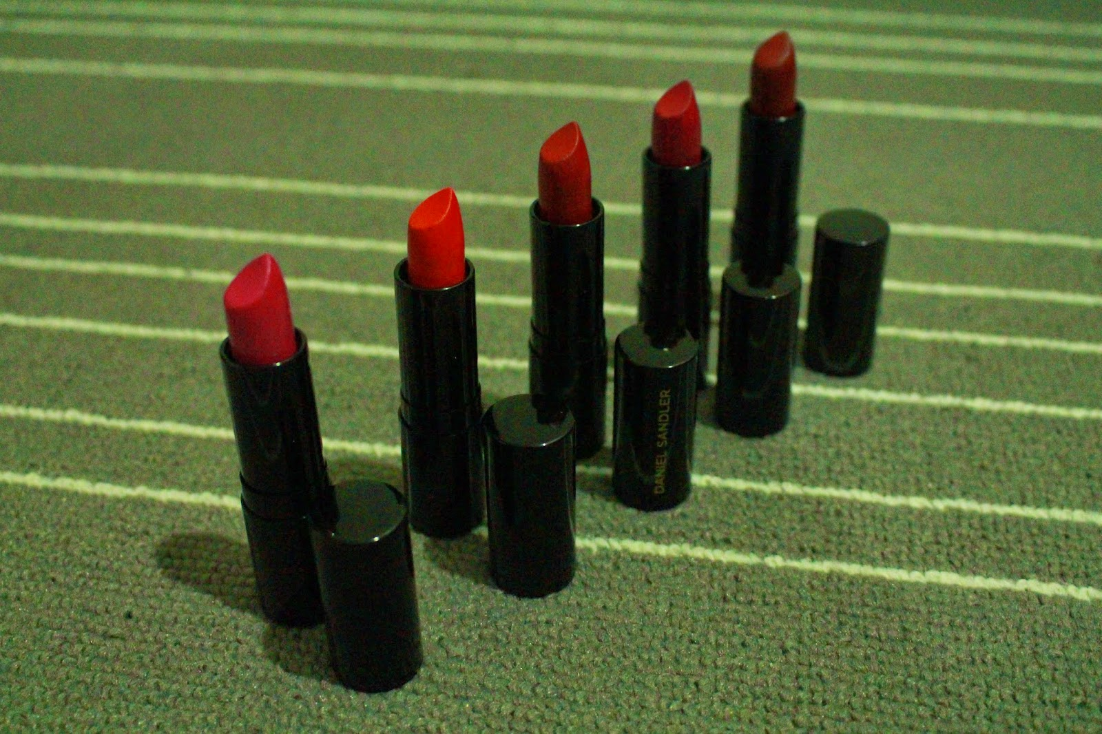 Daniel Sandler Luxury Matte Lipsticks (Casablanca, Valentina, Gi Gi, Marilyn and Red Carpet)