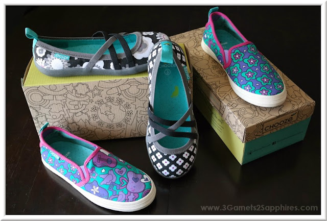Chooze Shoes Spring and Summer Styles for Girls |  www.3Garnets2Sapphires.com