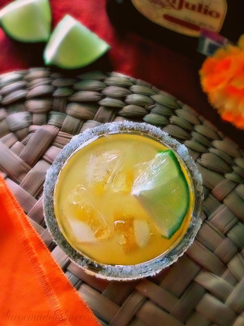 Mango Margaritas - lacocinadeleslie.com