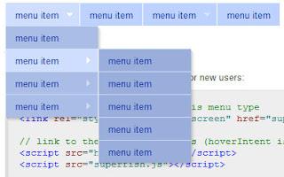 Superfish - jQuery menu plugin