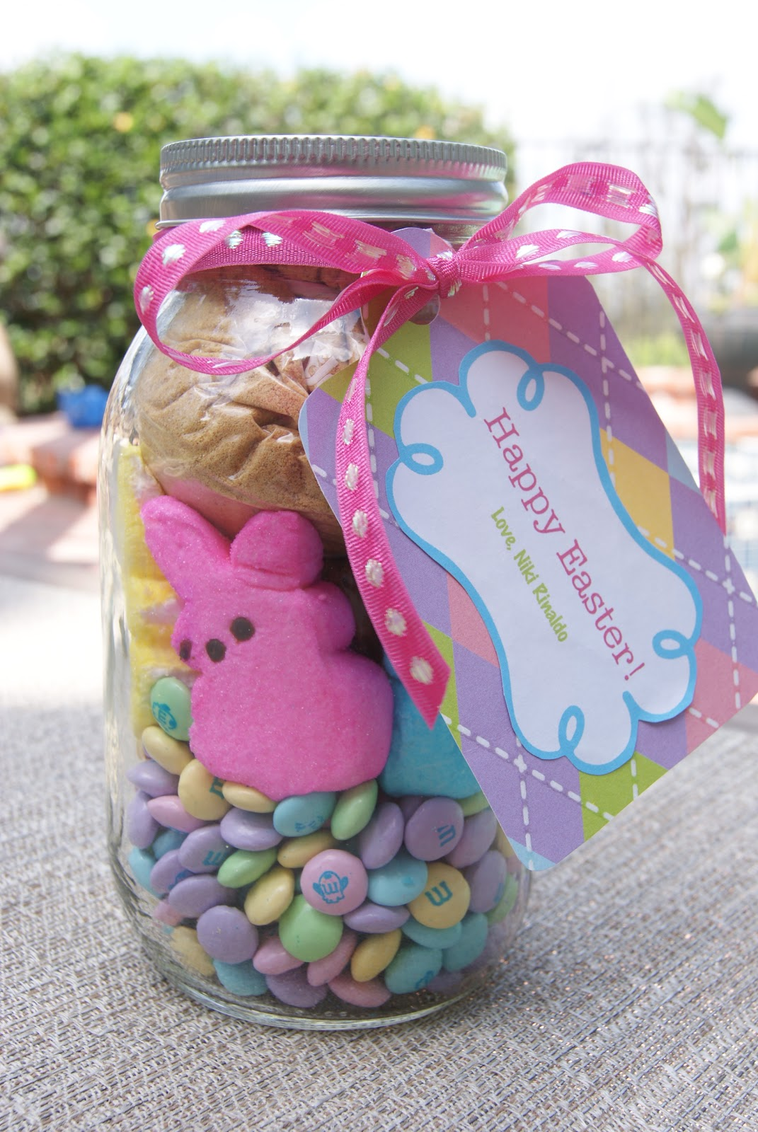 How to make Bunny Brownies in a jar (Bunny Smores) | BubbleCrumb