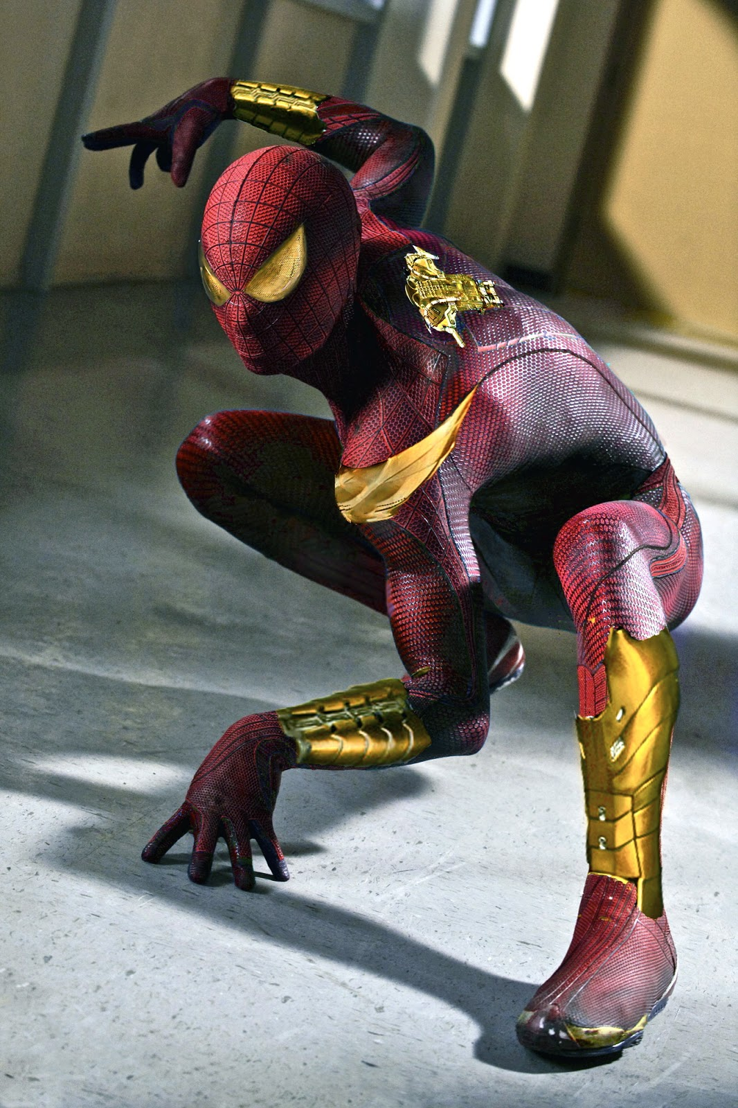 The Amazing Spider-Man: Iron Spider-Man Costume