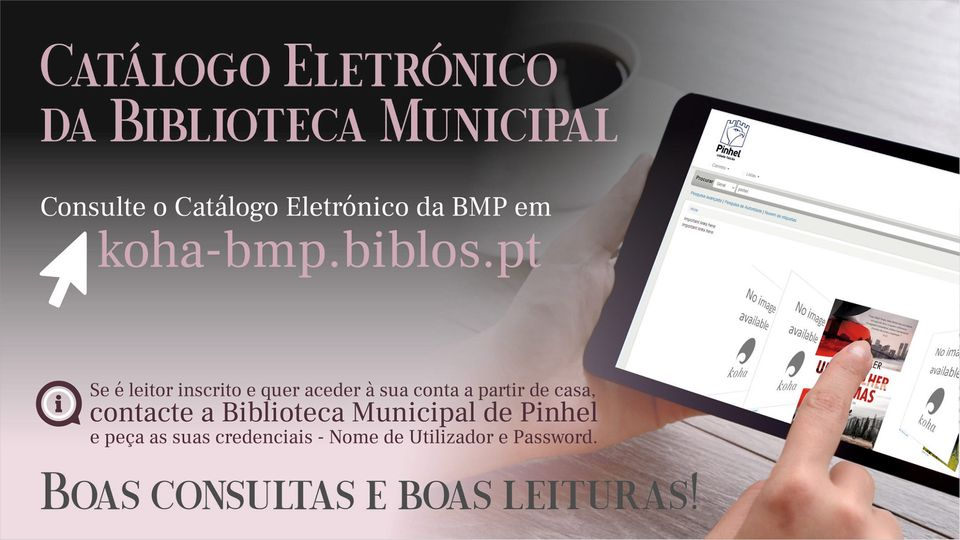 Biblioteca Municipal - catálogo eletrónico
